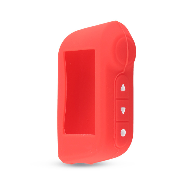 KEYYOU Keychain Cover Silicone Key Case For Starline A93 A63 Two Way Car Alarm Remote Controller For A93 A63 LCD Transmitter