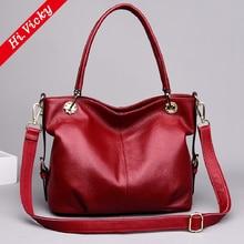 Luxury 100% Genuine Cow Leather Women bag women handbag Shoulder lady's messenger bag luxury Designer crossbody bags women Tote difenise luxury 100