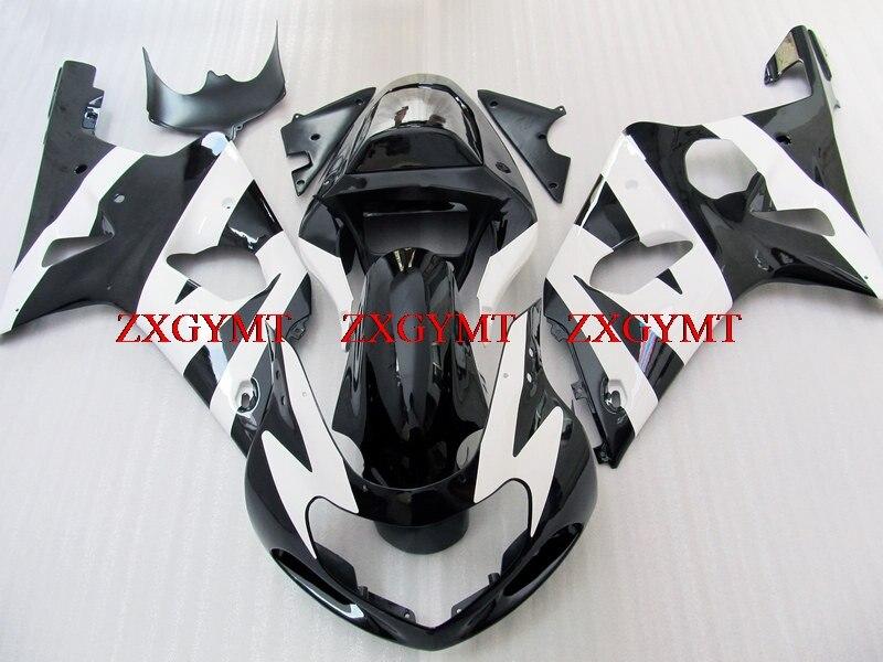 Fairing Kits for GSX R600 R750 R1000 2000 - 2003 K1-2 Plastic Fairings GSXR 600 750 1000 01 00 Black White 2002Fairing Kits for GSX R600 R750 R1000 2000 - 2003 K1-2 Plastic Fairings GSXR 600 750 1000 01 00 Black White 2002