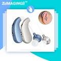 Alta qualidade digital hearing aid invisible aids atrás das orelhas portátil sem fio recarregável amplificador de som ouvido