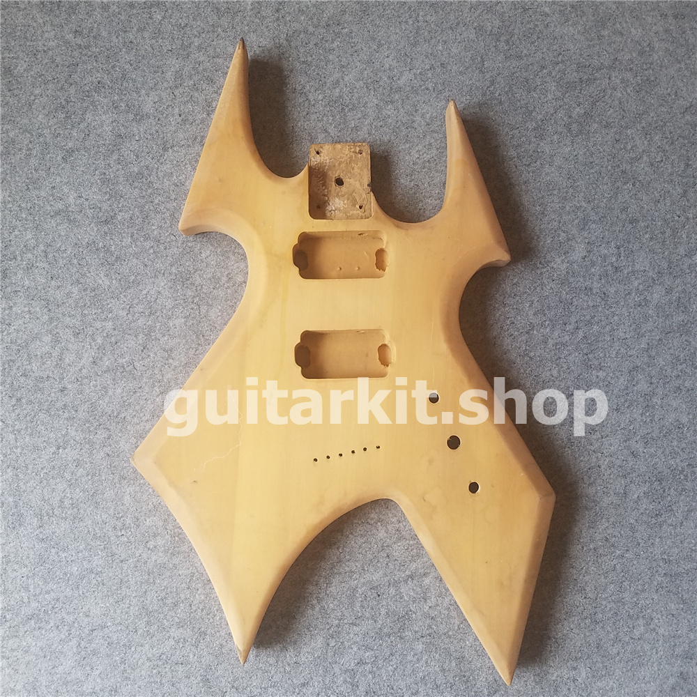 Novel Designs Afanti Music Diy Guitar / Diy Electric Guitar Body Delightful Colors And Exquisite Workmanship Famous For Selected Materials g106