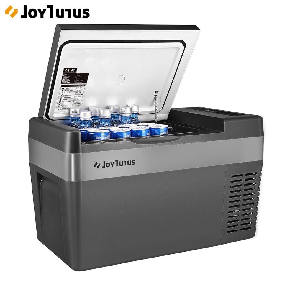 25L voiture réfrigérateur 2 méthodes de charge 12 V/24 V Portable réfrigérateur compresseur refroidisseur congélateur pour voyage à la maison Camping-22 ℃ à + 10 ℃