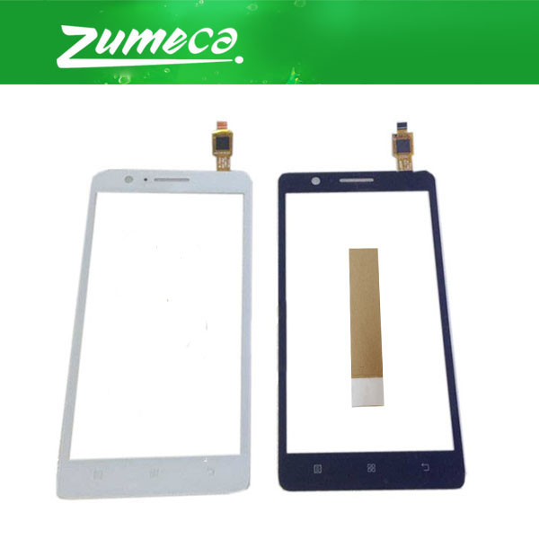 5.0 Inch For Lenovo A 536 A536 Touch Screen Digitizer Touch Panel Lens Glass Replacement Part Black White Color With Tape