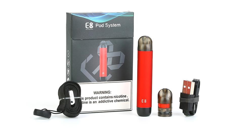 JDI E8 Pod System Starter Kit 350mAh