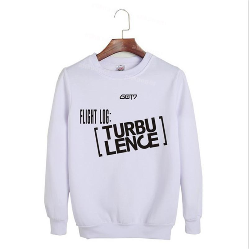 b24b2f0dca99 ALLKPOPER KPOP GOT7 FLIGHT LOG TURBULENCE hard carry Sweatershirt In Seoul  Hoodie Bambam Jackson Mark-in Hoodies   Sweatshirts from Women s Clothing  on ...