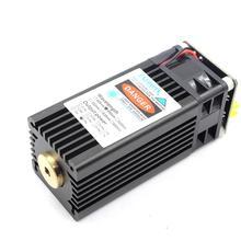 Oxlasers 15w de alta potência módulo laser azul foco fixo cabeça laser para diy cnc gravador corte madeira compensada