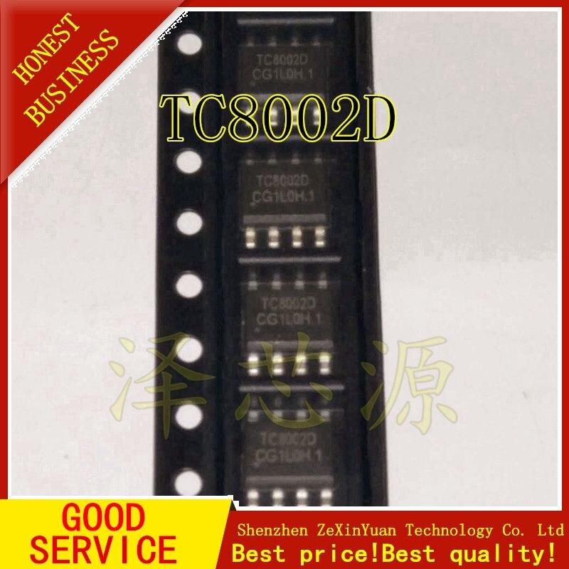 20PCS/LOT TC8002D TC8002 8002D 3W AUDIO POWER AMPLIFIER AUDIO POWER AMPLIFIER IC SOP-8 NEW ORIGINAL