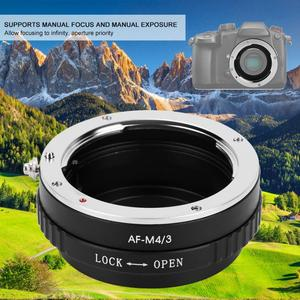 Image 2 - Metal Manual Lens Adapter Ring for Minolta AF Lens to Fit for M4/3 Mount Camera for Olympus E P1 E P2 for  G1 GF1 Lens
