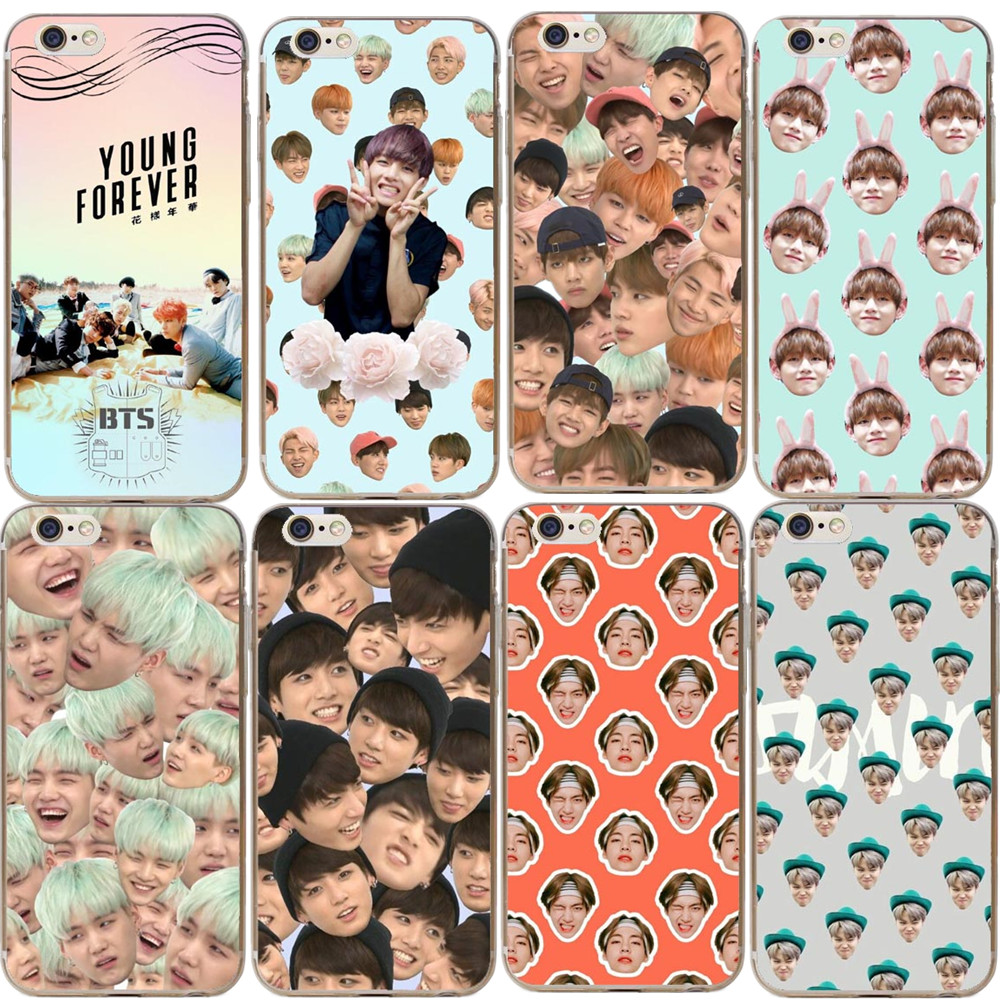BTS Korea Bangtan Boys Young Forever Cover for iPhone 5 5S SE 6 6s Plus 7 7Plus 8 8Plus Pennywise Phone Case for iPhone X