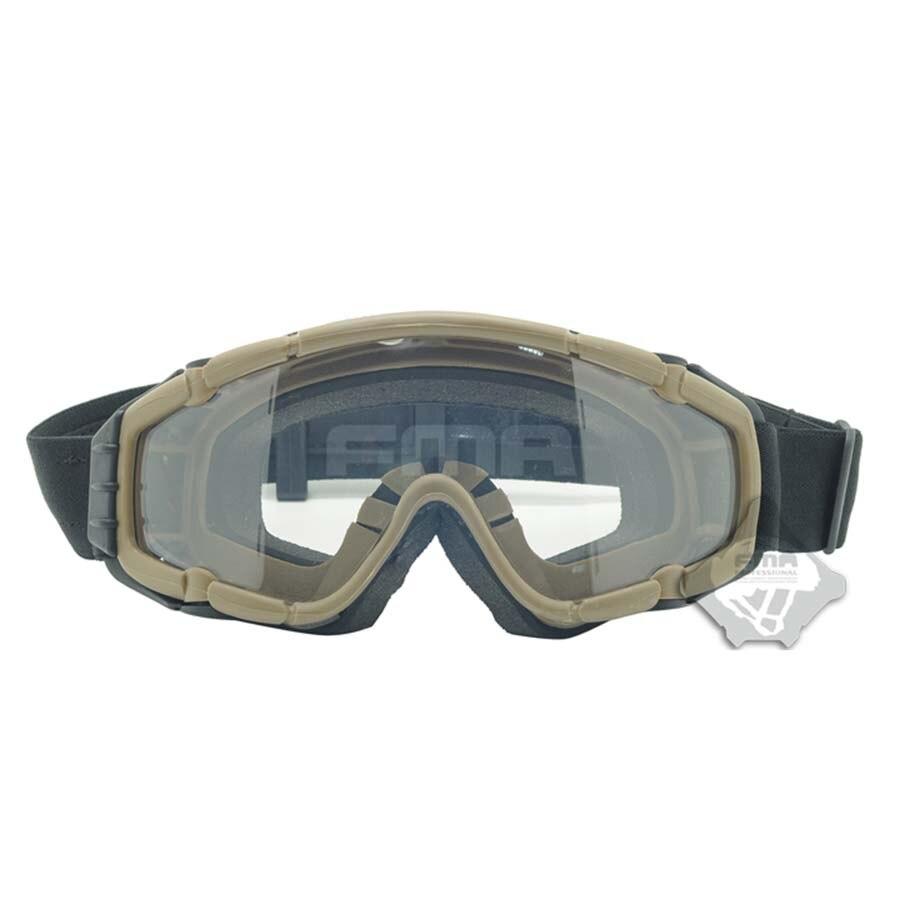 ФОТО FMA Cooler Fan Version Outdoor Paintball Airsoft Glasses Goggle Ski anti-fog lens