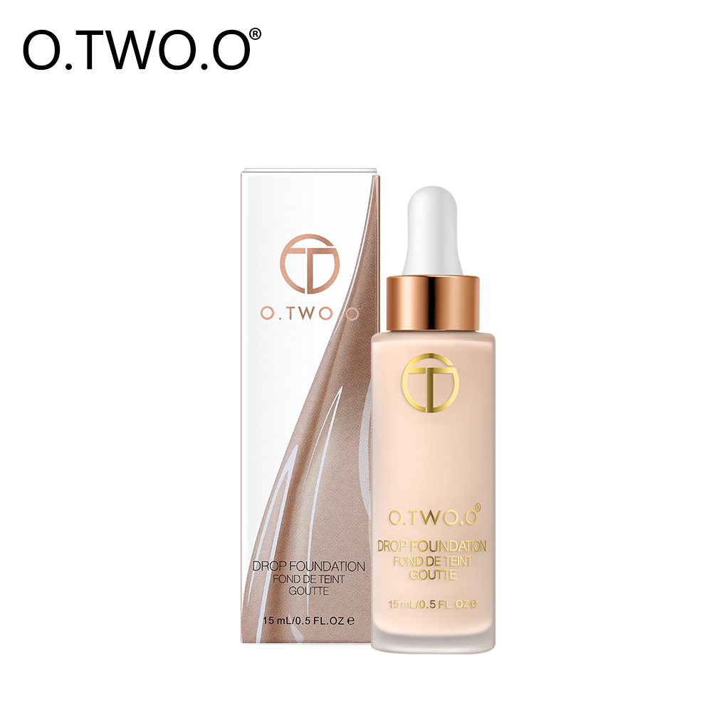 O.TWO.O Liquid Foundation BB Cream Concealer Full Coverage Makeup Face Whitening Primer Base Makeup Foundation waterproof