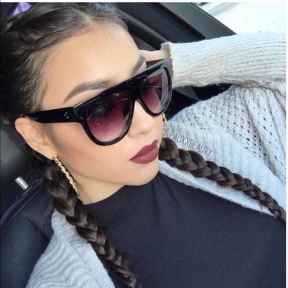 HTB15hvcQFXXXXcMaXXXq6xXFXXXy - Flat Top Retro Tortoise Shadow Women's Sunglasses