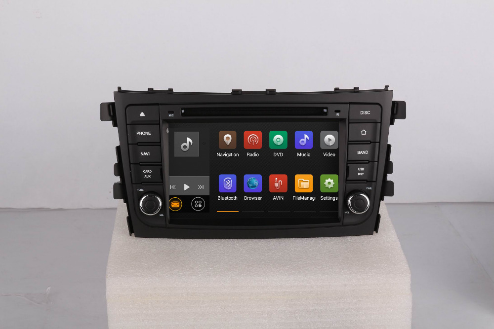 Car Stereo Radio Audio DVD Multimedia Player Android 5.1 GPS Navigation For Suzuki Celerio 2014~Up Free Shipping