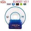 2016 Última Versión Super Mini ELM327 Bluetooth V2.1 OBD2 Auto Herramienta de Diagnóstico Del Explorador DEL OLMO 327 V2.1 Soporta Los Protocolos de OBDII