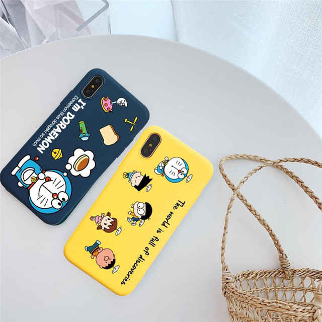 Japanese Anime Doraemon Phone Cases For iPhone