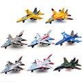 Mini Pull Back Modelos de Aeronaves Brinquedos Liga Avião de Brinquedo de Metal Favoritos Crianças Educação Presente de Natal Crianças Aircraft 8 pçs/lote