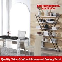 Pastoral accessories rack Magazine Rack storage shelf bookcase wrought-iron baffle