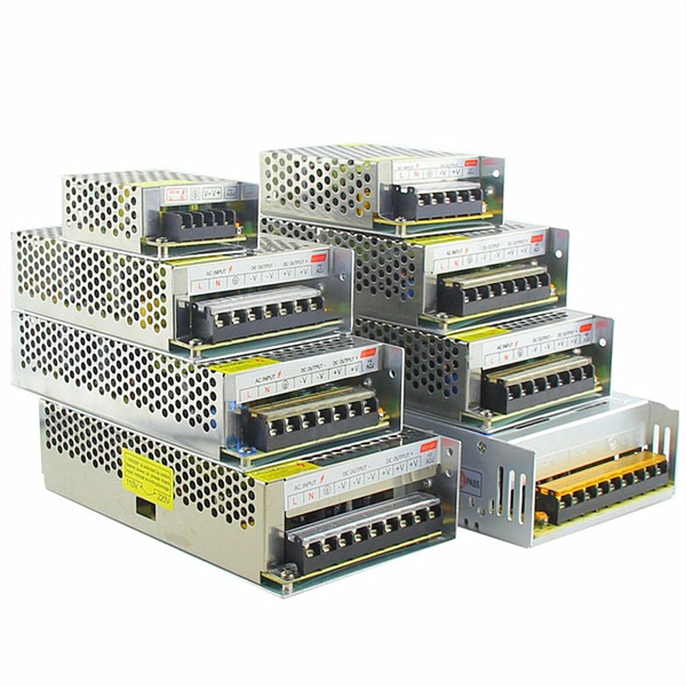 Led Strips Led Strip Power Adapter 1.25a 2.1a 3a 5a 10a 15a 20a 30a 40a 50a 60a Switch Power Supply Ac110v-240v To Dc12v Power Transformer