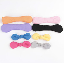 30pcslot 14 Colors Large 5 Chiffon Bows DIY Hair Bow Knotted Hair Bows Without headband For Baby Girls Hair Accessories