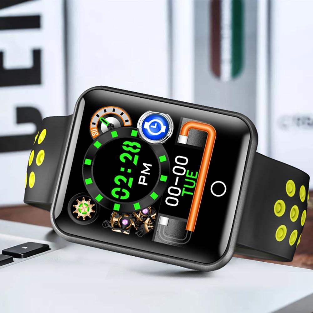 Timethinker Q18 montre intelligente hommes femmes Bluetooth Smartwatch Sports Reloj Hombre pression artérielle moniteur de fréquence cardiaque IP68 étanche