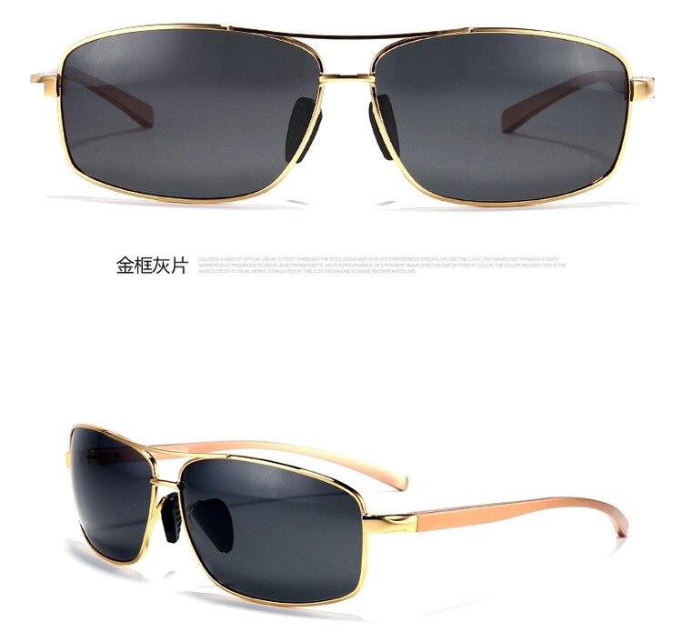 9f1ffe00e5b8d ≧Haoyu aluminio magnesio gafas de sol polarizadas hombres gafas de ...
