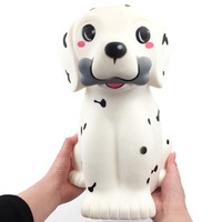 Kawaii Squeezable Jumbo Giant Cute Dog Slow Rising Scented Stress Relief Toys Stress Reliever Toys for Children