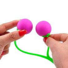Cherry Smart Ball Kegel Balls Silicone Ben Wa Ball Vagina Vibrator Ball Trainer Sex Toys for Woman Vagina Shrinking Exercises