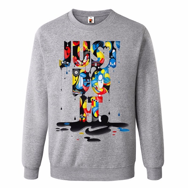 Anime High Quality New Fashion Just Do It Brand Sudaderas Clothing Hip Hop Letter Print Hoodies