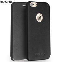 QIALINO For IPhone 6 S Plus 5 5 Inch Leather Bag Cover Flip Magnetic Genuine Leather