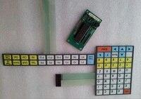 IP65 Industrial keyboard, Industrial Grade Waterproof Membrane Keyboard, With ps/2 controller, provide custom design services