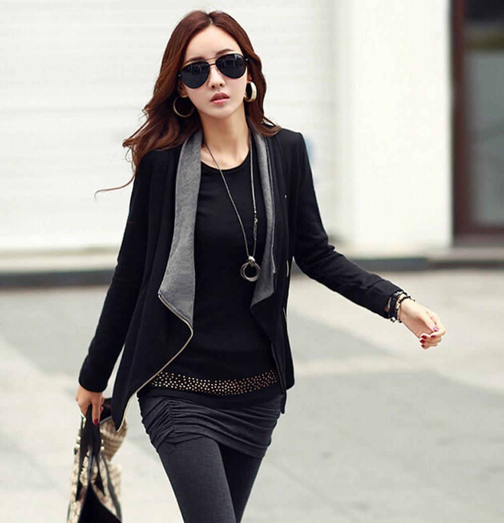 Womens Black Casual Blazer