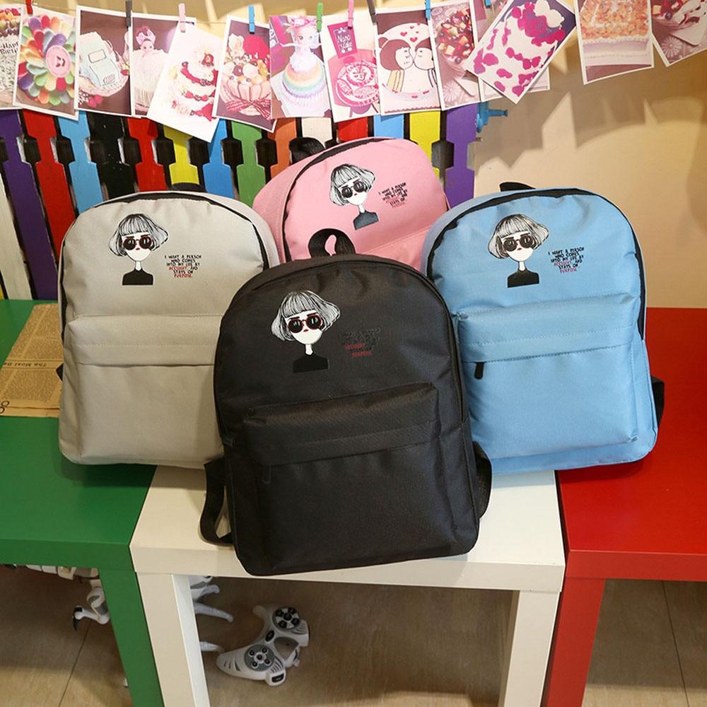 Korean New Casual Women Backpack Female Backpacks Girls School Bags Canvas Womens Backpack Travel Women Bag Back Pack Mochila