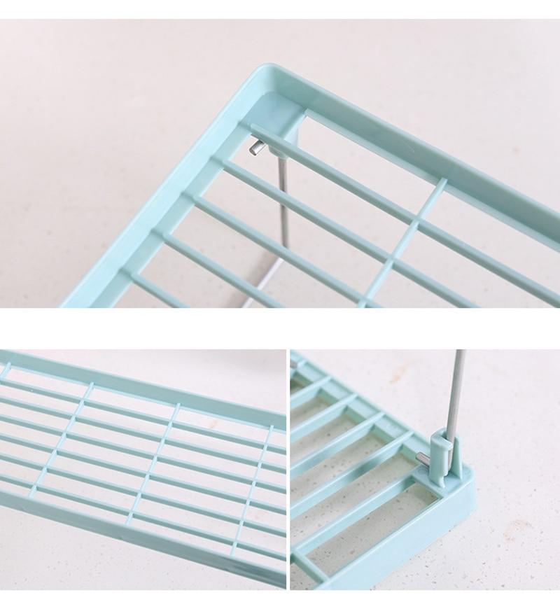 Shop Latest Plastic Foldable Kitchen Storage Rack And Kitchen Organizer For Storage Of Cookware Spice Jar Online