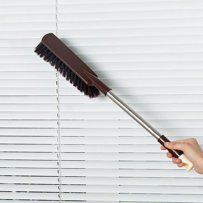 Free Shipping Multi purpose Household thicker brush Lengthening type non-slip handles bed brush cleaning brush dust brush