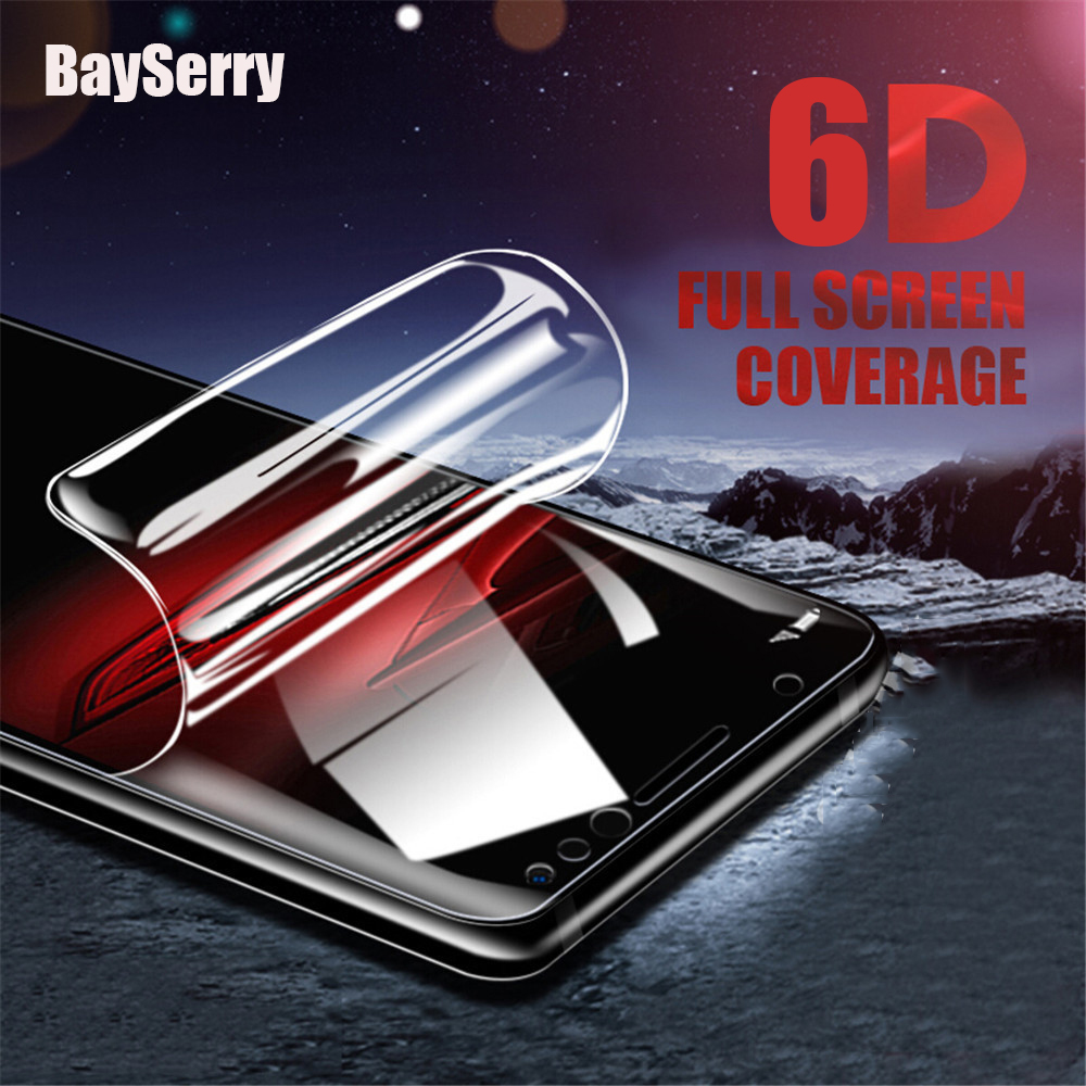 6D Hydrogel Film For Redmi Note 8 7 K20 Pro GO 7 Coved Soft Screen Protector Film For Xiaomi Mi 9 SE Mi 9T Pro A3 Lite Film