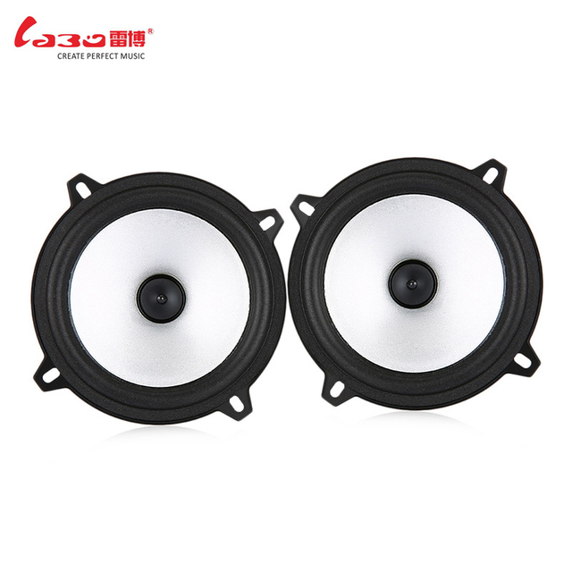 2pcs 60W 5 inch Car Speaker Automobile Car Full Range Speaker Sensitivity Power Loudspeaker Auto Audio