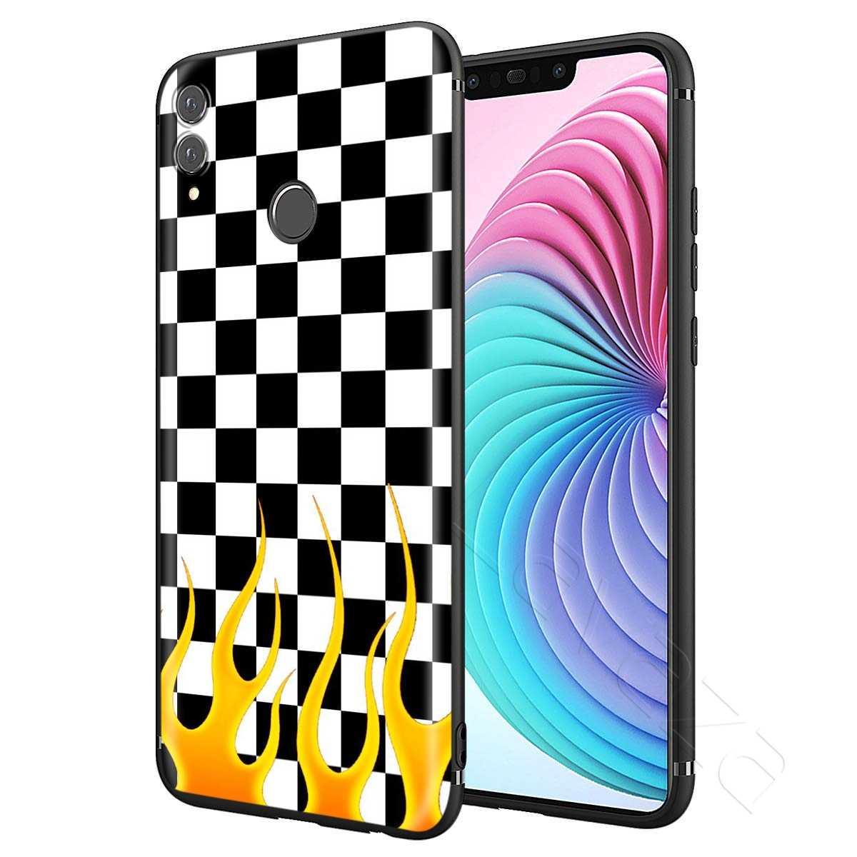 Lavaza Kotak-kotak Kotak-kotak Case untuk HUAWEI Mate Y7 Y9 P8 P9 P10 P20 P30 Lite Pro P Smart Mini 2017 2019