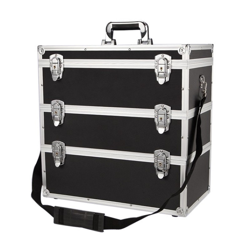 Tool Case Multi-layer Combination Storage Toolbox Portable Multi-function Hardware Large Capacity Repair Aluminum Alloy Car Box