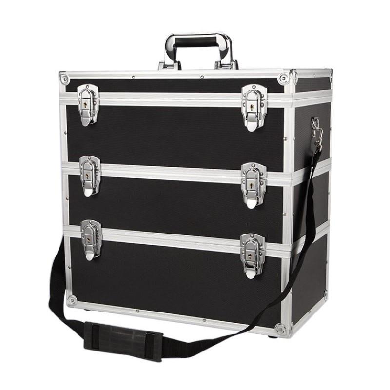 Tool Case Multi-layer Combination Storage Toolbox Portable Multi-function Hardware Large Capacity Repair Aluminum Alloy Car Box