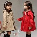 Blusão casaco menina meninas outerwear crianças casacos e jaquetas para crianças cardigan criança 3 ~ 15 anos de moda primavera outono MC35