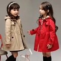 windbreaker girls jacket  girl outerwear kids coats and jackets children toddler cardigan 3~15 year spring autumn fashion MC35