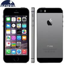 """Original Desbloqueado Apple iPhone 5S LTE Smartphone Dual Core 4 """"IOS IPS Utiliza Teléfono 8MP GPS Del Teléfono Móvil de Huellas Digitales"""