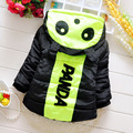 2015 high quality baby Cartoon coat baby boys winter coat infant warm fashion outerwear kids hooded jacket