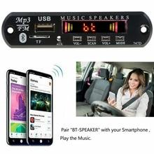רכב MP3 נגני WMA מפענח לוח אלחוטי Bluetooth לרכב רדיו מודול USB TF רדיו FM AUX עבור אביזרי רכב Bluetooth רמקול
