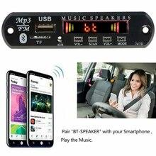 車 MP3 プレーヤー Wma デコーダボードワイヤレス Bluetooth カーラジオモジュール USB TF ラジオ FM AUX 用 Bluetooth スピーカー