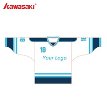 Custom Cobra Logo #75 USA American V Neck League Ice Hockey Jerseys Stitched Training Hockey Ball Jersey 3 Colors Fit Size