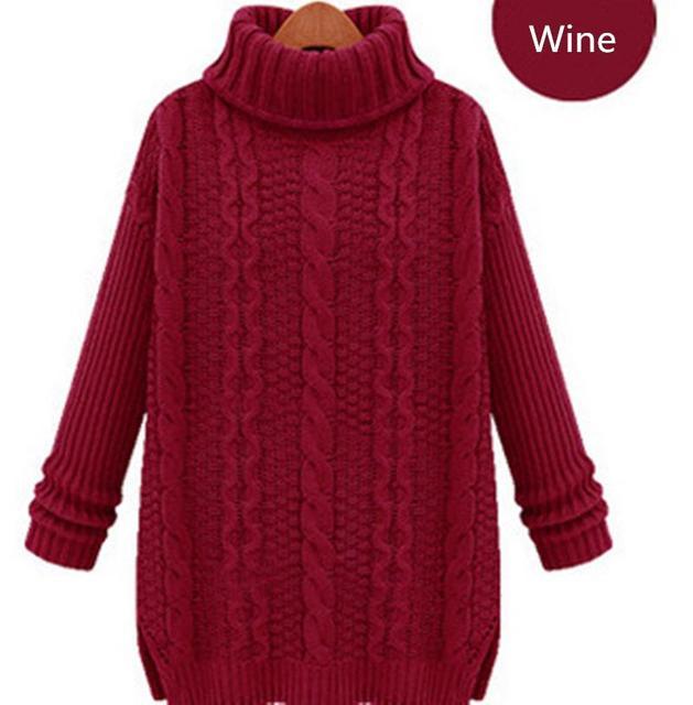 Maglione Nuovo Modo 2017 Inverno Vintage Maglie Caldo Pullover Donne XRCvqRpwx