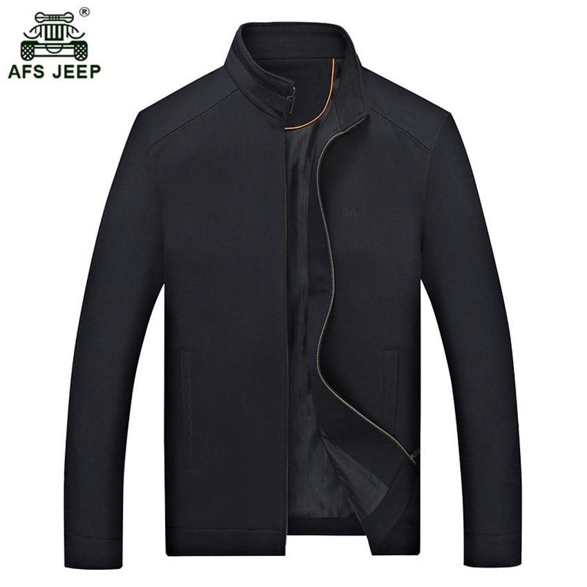 2018 printemps et automne saison senior noir moyen homme liling veste mâle couleur lâche veste fit pour papa 100zr