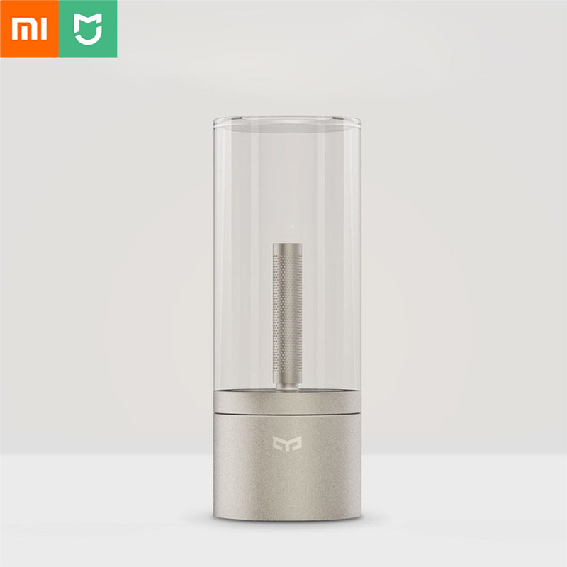 Xiaomi Yeelight Smart Candle Light Remote Touch Control Bluetooth Home Night Table Bedroom Bedside Date Candela