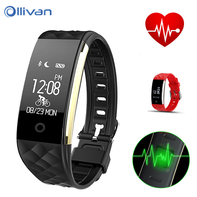 S2 Smart Band Heart rate monitor Swimming Waterproof Bluetooth Smart Wristband Pedometer Fitness Tracker Bracelet PK